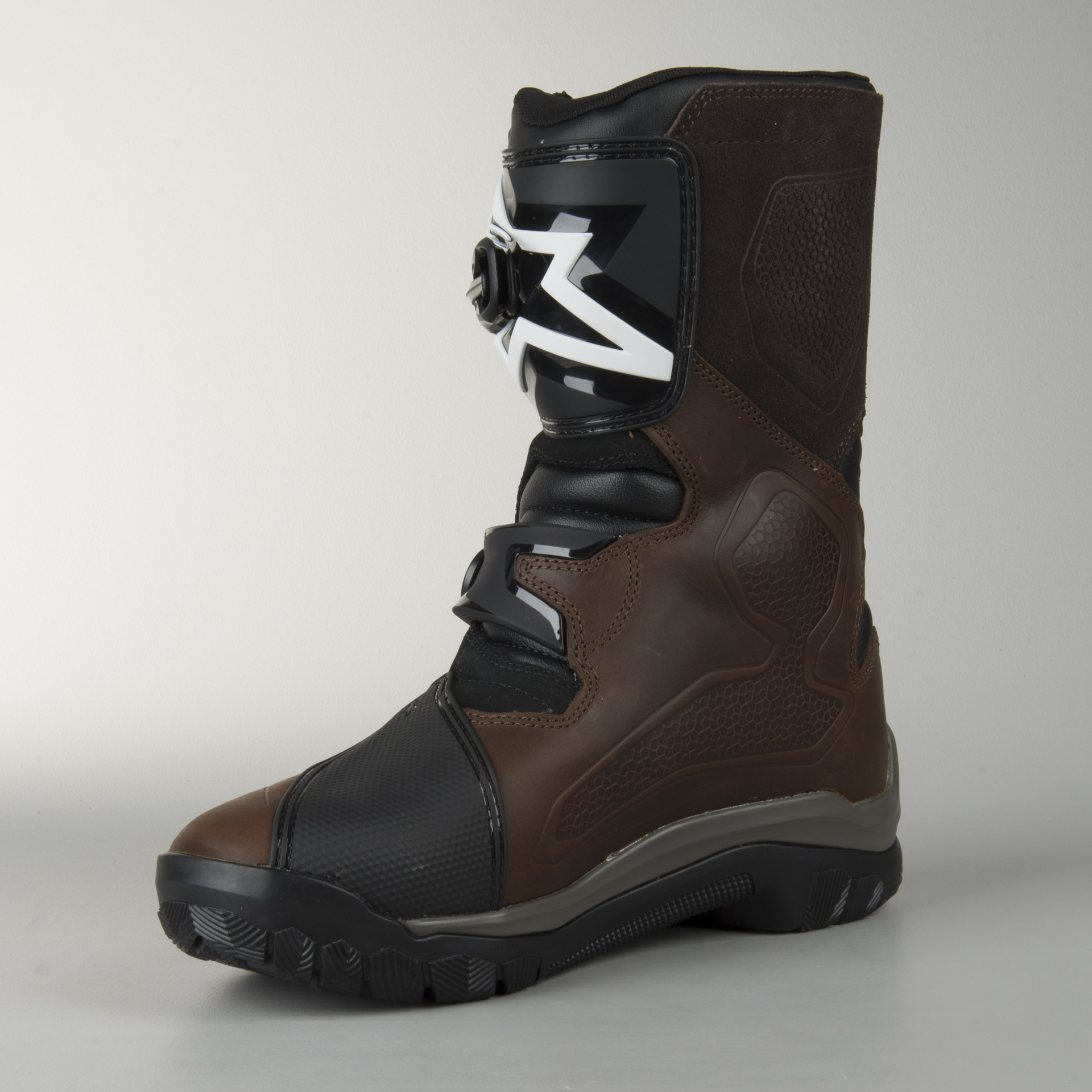 Brown US 9 ALPINESTARS BELIZE Drystar Oiled Leather Touring