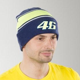 VR46 Yamaha Dual Hat Blue