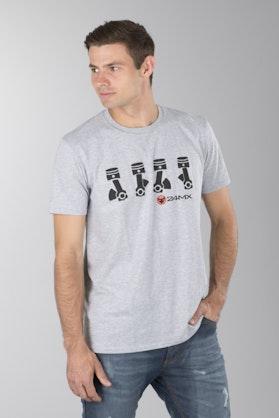 T-Shirt 24MX Pistons Grå