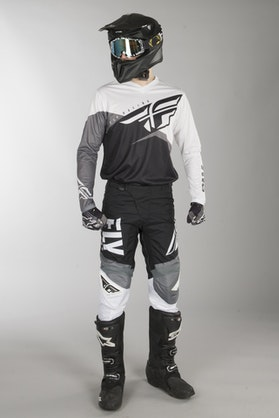 Fly F-16 MX Clothes Black-White-Grey