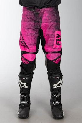 FLY Kinetic Noiz MX-Trousers - Neon Pink-Black