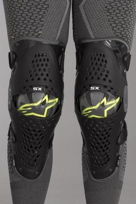 Ochraniacze kolan Alpinestars SX-1 Czarno-Antracyntowy