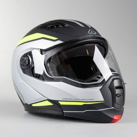 Acerbis Derwel Adventure Helmet Black-Yellow