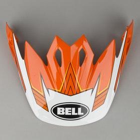 Daszek do kasku Bell MX-9 Blockade Pomarańczowy