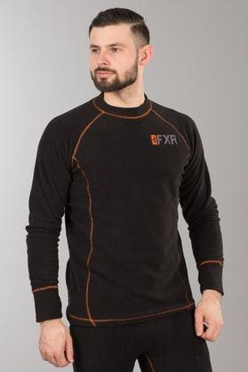 Funkční Tričko s Dlouhým Rukávem FXR Pyro Thermal Černo-Oranžové