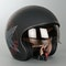 Suomy Helmet Jet 70's Custom Matt Black