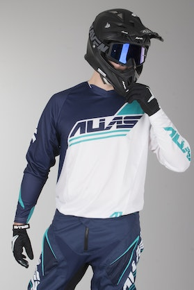 Alias A1 Jersey Analogue White-Navy