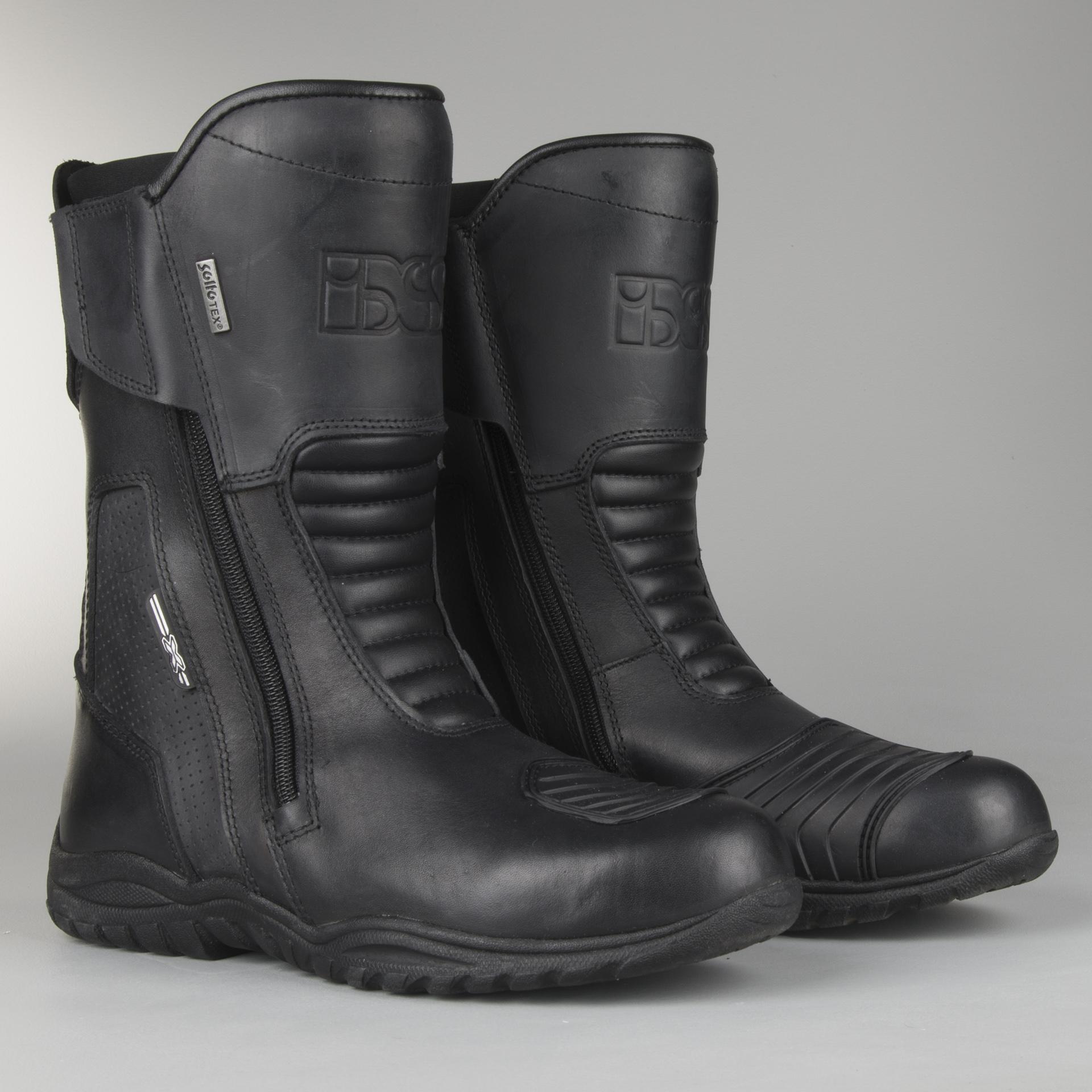Bottes de moto IXS Nordin Noir