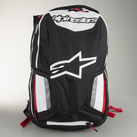 Alpinestars City Hunter Backpack Black-White-Red
