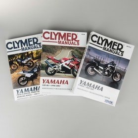 Clymer Yamaha Repair Manual (search by model)