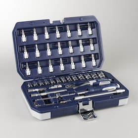 Proworks Socket Wrench Set 43 Pieces 1/4""