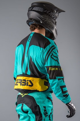 Acerbis Fanny Bum Bag Black & Yellow