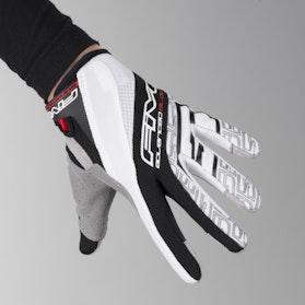 Motokrosové rukavice Five TRX Černá-Bílá