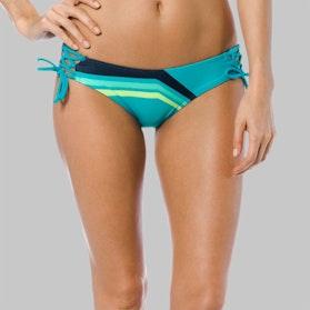 Fox Seca Lace Up Side Tie Bikini BTM Turquoise