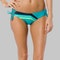 Dół Bikini Fox Seca Lace Up Side Tie Turkusowy