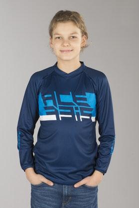 Bluza Cross Acerbis Soen Special Młodzieżowa Niebieska
