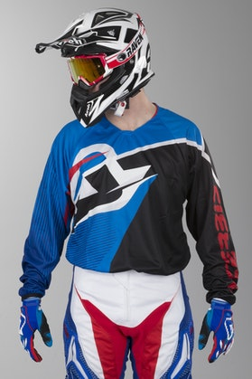 Acerbis Profile MX Motocross Jersey Blue-Black