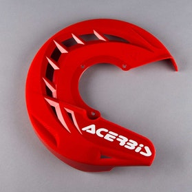 Acerbis X-Brake Front Brake Disc Protection - Red