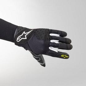 Rękawice Alpinestars Kinetic Czarno-Fluorescencyjno Żółte