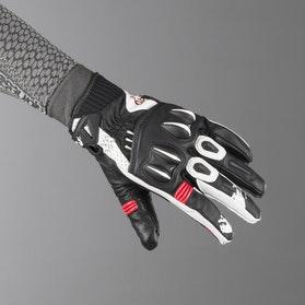 Rękawice Furygan RG17 Czarno-Biało-Czerwone