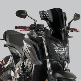 Owiewka Puig Rafale Kawasaki Czarna