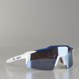 100% Speedcraft SL Bicycle Glasses White-Blue