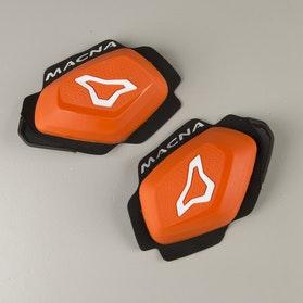 Kolenní Slidery Macna Pro Oranžové-Bílé