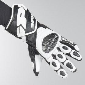 Rękawice Spidi Carbo 7 Czarno-Białe