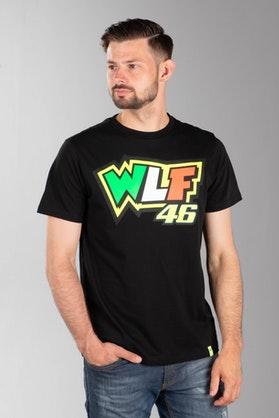 Koszulka VR46 Valentino Rossi Czarna