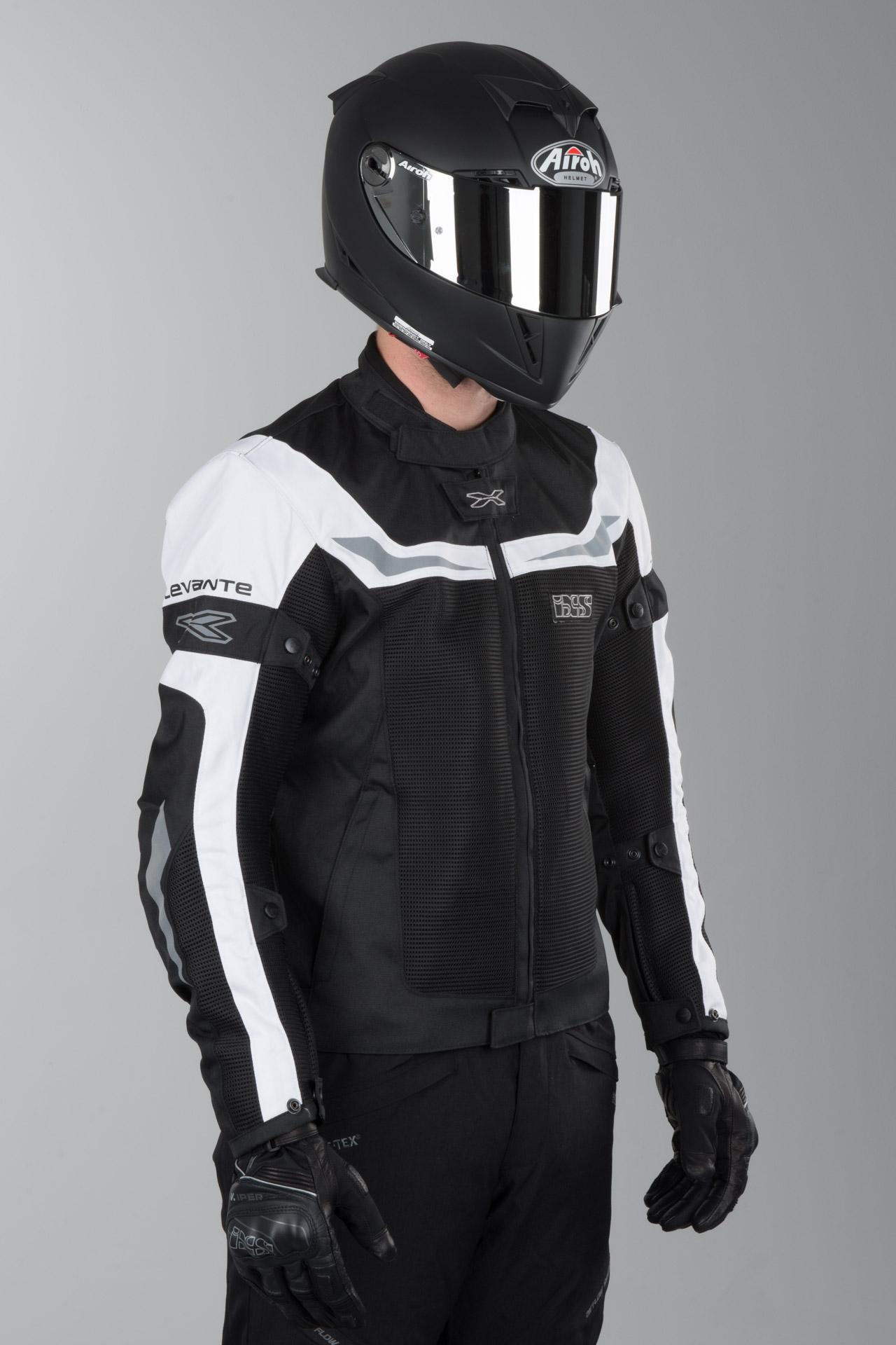 IXS Levante Motoryclce Jacket Black