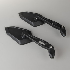 JMP Right+Left Rear View Mirrors- Black