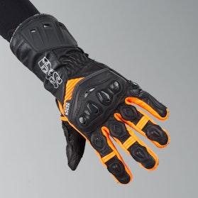 Rękawice IXS RS-200 Czarny-Pomarańczowy