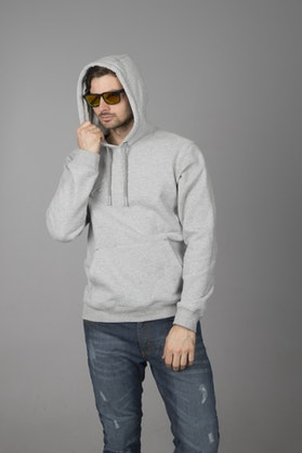 Alpinestars Authority Hoodie Heather Grey