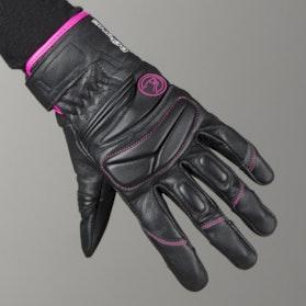 Bering Ladies Mezia Gloves Black-Fuchsia