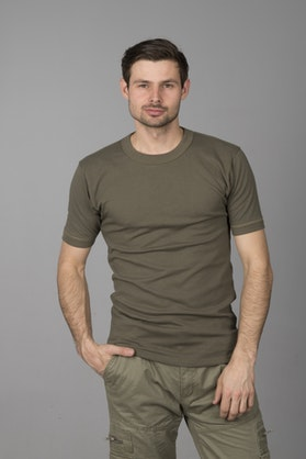 T-Shirt Brandit BW Baselayer Oliwkowy