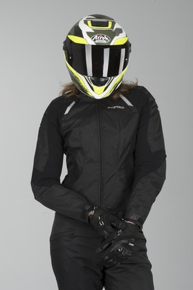 Acerbis Braaid Women's Enduro-Jacket Black