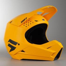 Shift Whit3 MX Helmet Yellow MX 18