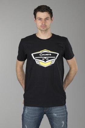 T-shirt Xlmoto is 100% Moto Czarny