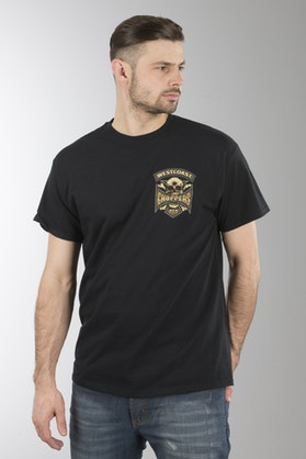 Koszulka West Coast Choppers Hipster Hunters Czarna