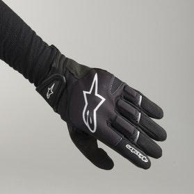 Rękawice Alpinestars Atom Czarno-Białe