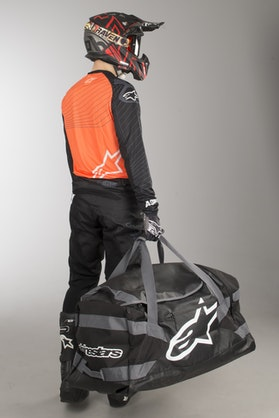 Alpinestars Goanna Duffle-Bag Black-Anthracite-White