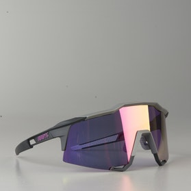 100% Speedcraft Soft Tact Bicycle Glasses Graphite