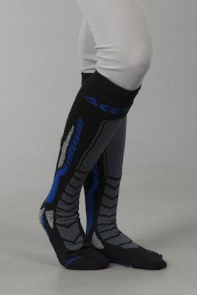 Skarpety Acerbis MX Pro Czarno-Niebieskie