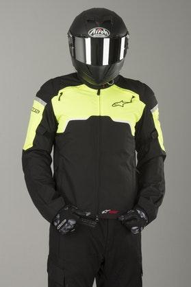 Alpinestars Hyper Drystar Jacket - Black-Flourescent Yellow