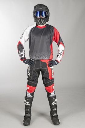 Motokrosová Souprava Freestyle Upforce Černo-Červená