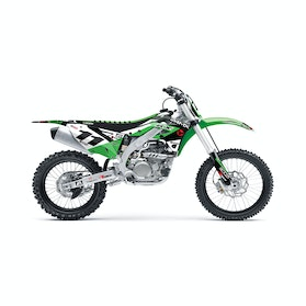 24MX Enjoy Kawasaki Decal Kit (excludes Swing Arm decals)