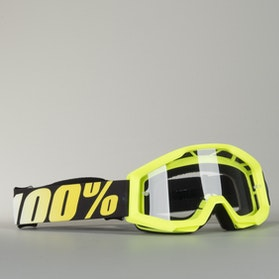 100% Strata Youth Goggles - Yellow