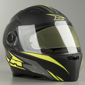 Kask Integralny AXO RS01 Czarno-Żółty