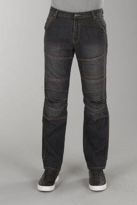 Dżinsy Bolt Aramid PISA 'Krótkie nogawki' Czarne