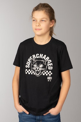 100% Youth Dump Truck T-Shirt Black